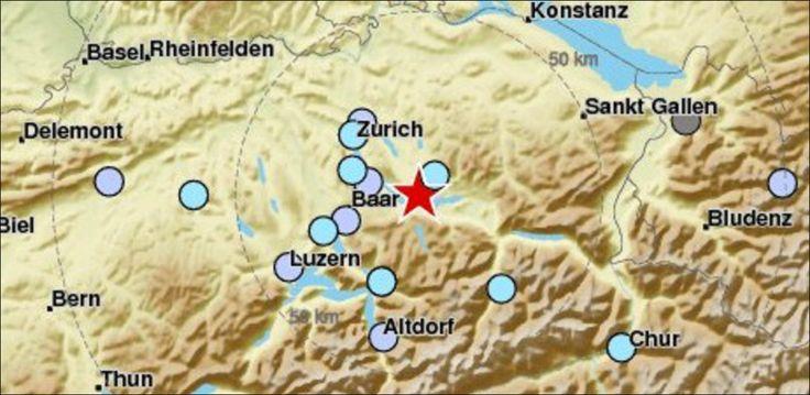 20 Minuten - Erdbeben im Kanton Schwyz bis nach Zürich spürbar - News