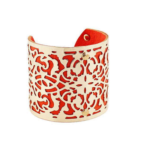 Винтажный стиль китайской традиционной конструкции манжеты браслеты золотой цвет пу кожаные браслеты для женщин 2016 выдалбливают дизайн купить на AliExpress