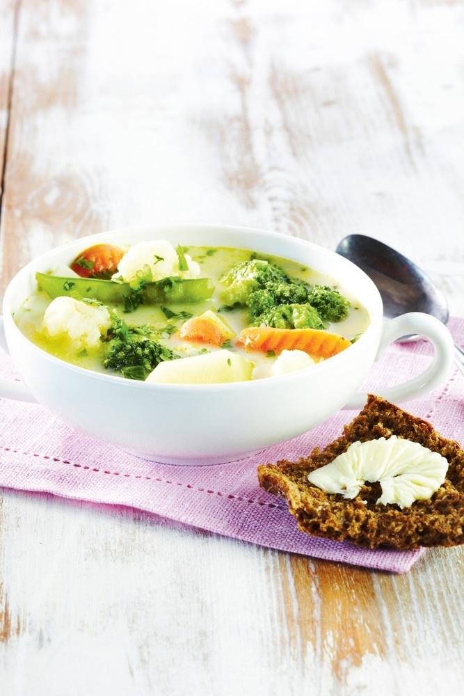 Kukkavihannes-juustokeitto | Kasvisruoat | Pirkka #food #vegetarian #ruoka #kasvisreseptit