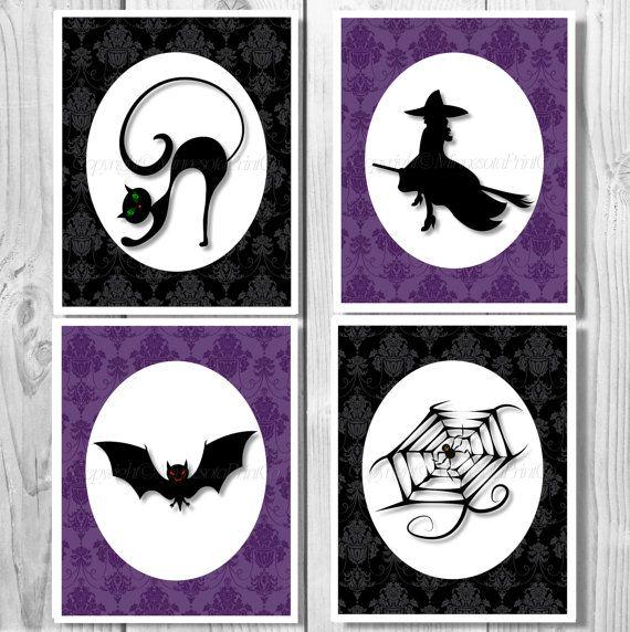15 best Halloween images on Pinterest Halloween art, Halloween - halloween decoration printables
