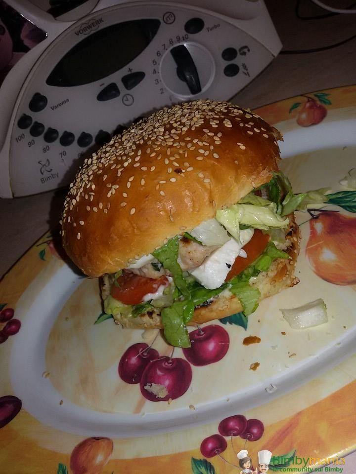 Pane per hamburger Bimby, I panini del Mc Donald's possiamo farli con le nostre mani, saranno più buoni e più sani! Ingredienti per 4-5 panini: 450 gr di ...