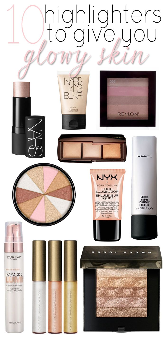 Need some help feeling glowy? Here are some amazing highlighters!