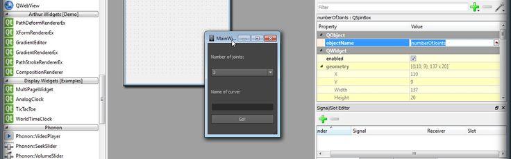 http://www.digitaltutors.com/tutorial/1167-Creating-Custom-User-Interfaces-in-Maya-and-Qt-Designer