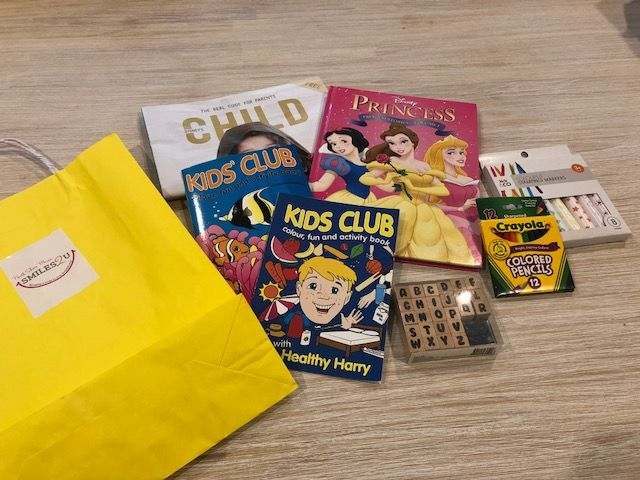Smiles Bag 2 4yrs Coloring For Kids Sticker Book Book Activities
