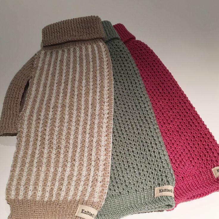 Pure Australian Merino wool dog sweater.