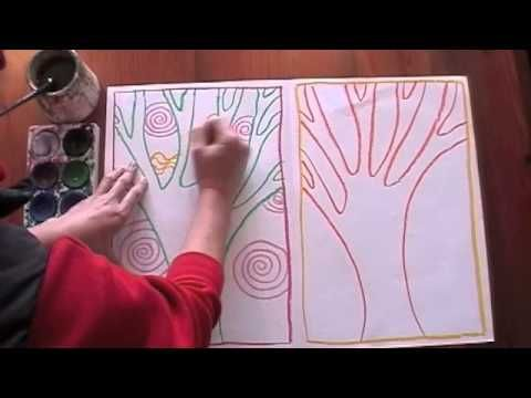 How to draw and paint an artwork based on positive and negative spaces.  Check out my new website with HEAPS of art lessons at www.artventure.com.au