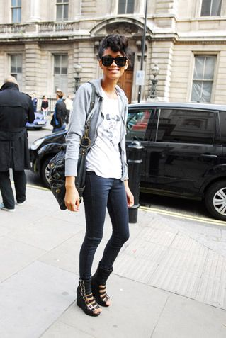 Chanel Iman: Street Fashion, Chaneliman, Iman Style, Fashion Victim, Street Style, Style Icons, Celebs Style, Chanel Iman, Casual Looks