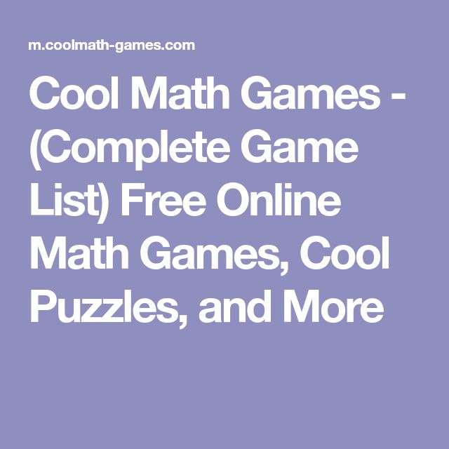 Cool math games complete game list gameswalls 71 best math tricks images on homeschool home schooling publicscrutiny Image collections