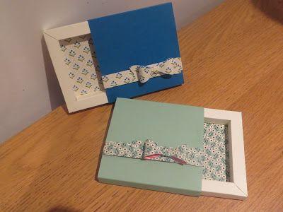 CraftyCarolineCreates: Shadow Box Gift Box Video Tutorial, Handmade using Stampin' Up UK products