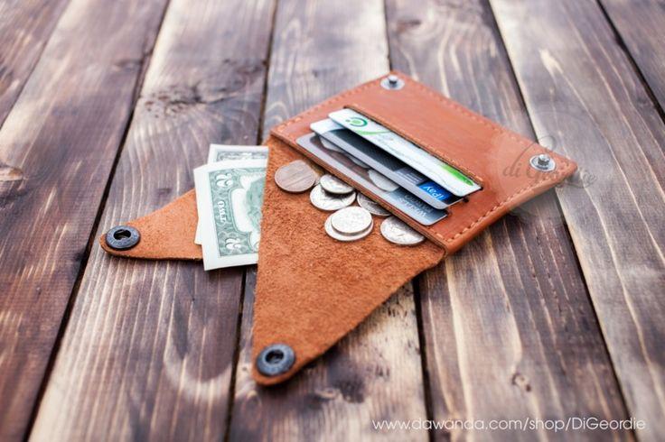 2. Geldbörsen - Herren Portemonnaie Leder Portemonnaie Damen - ein Designerstück von DiGeordie bei DaWanda