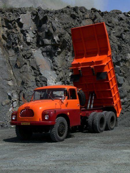 Tatra 138 | Staré náklaďáky