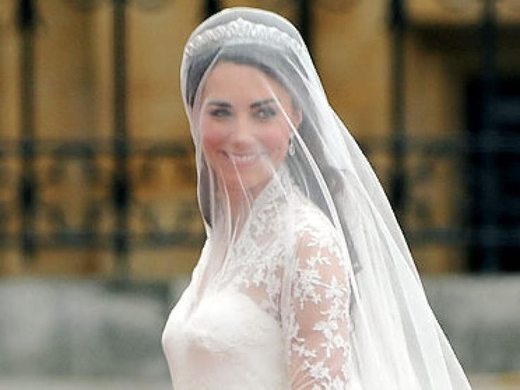 Kate Middleton's wedding dress: A closer look at the blushing bride