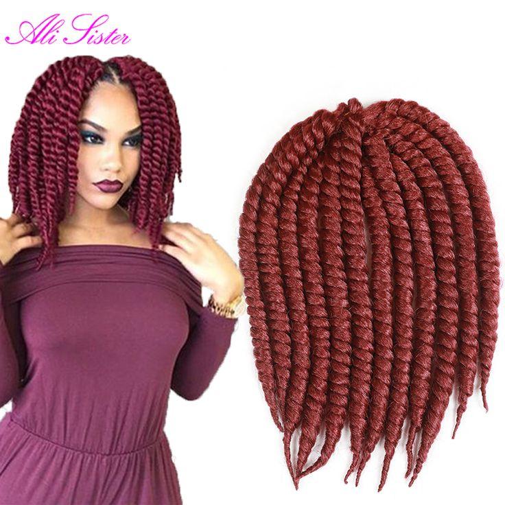 Find More Bulk Hair Information about havana mambo twist crochet braid hair freetress crochet braid hair pieces braids…