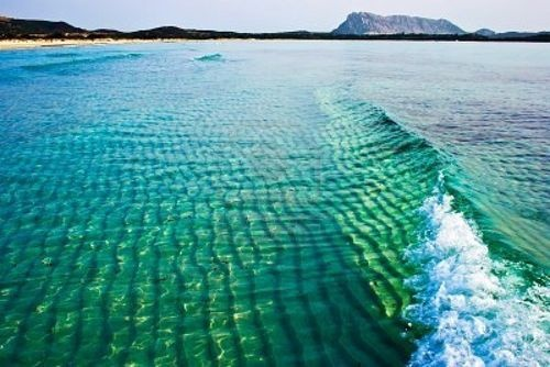 : Love -Liga, Tyrrhenian Sea, Sardinia Italy, Ultramarin Green, La Love, Color, Cinta Beaches, Green Waves, Photo