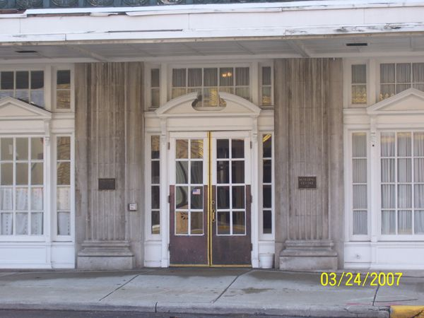 The Main Entrance Hotel Harding Historic Pictures Of