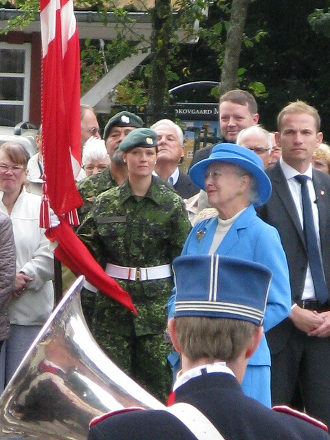 queen margrethe ll in viborg