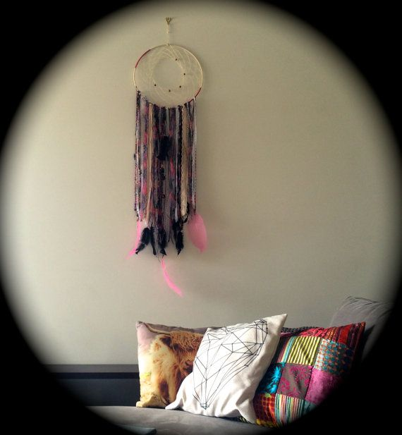 Bohemian dream catcher wall hanging by LittleCorrie on Etsy Visit my Etsy shop to purchase my creations https://www.etsy.com/au/shop/LittleCorrie?ref=shop_sugg