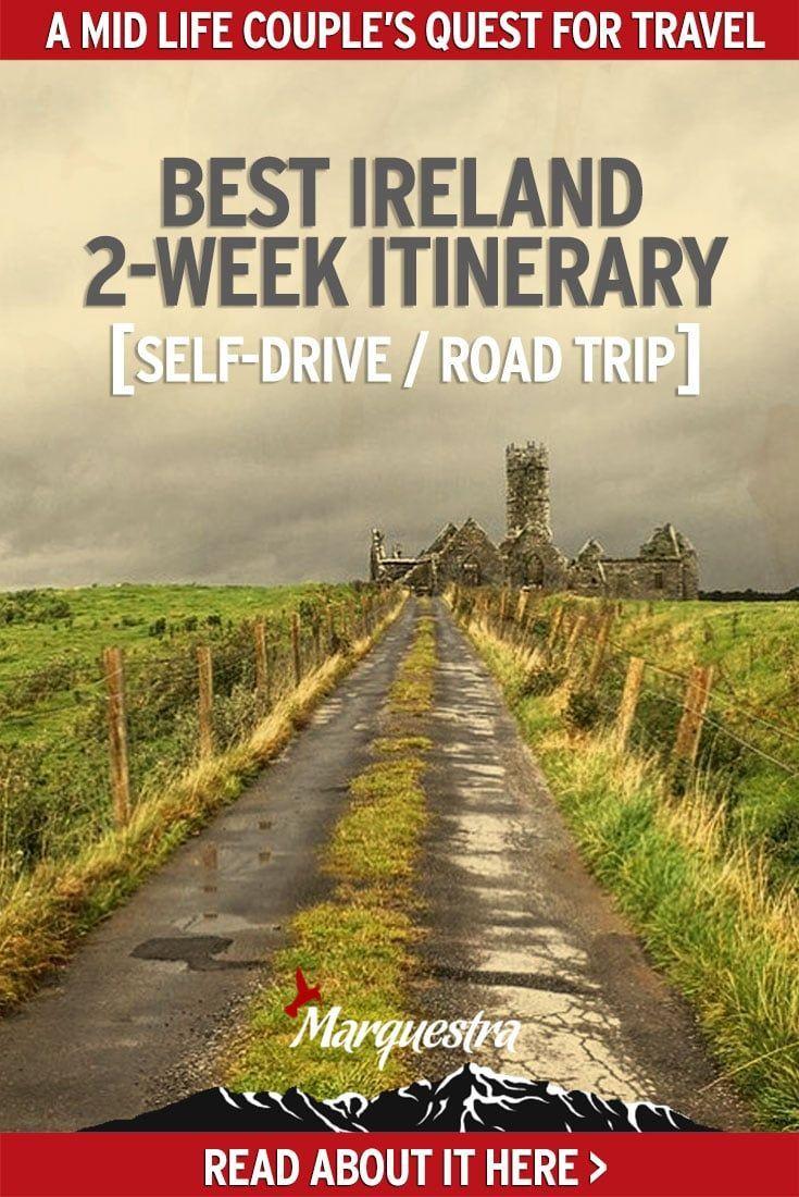 Marquestra Best Ireland road trip itinerary self drive #irelandroadtrip #irelanditinerary #irelandselfdrive #travelireland