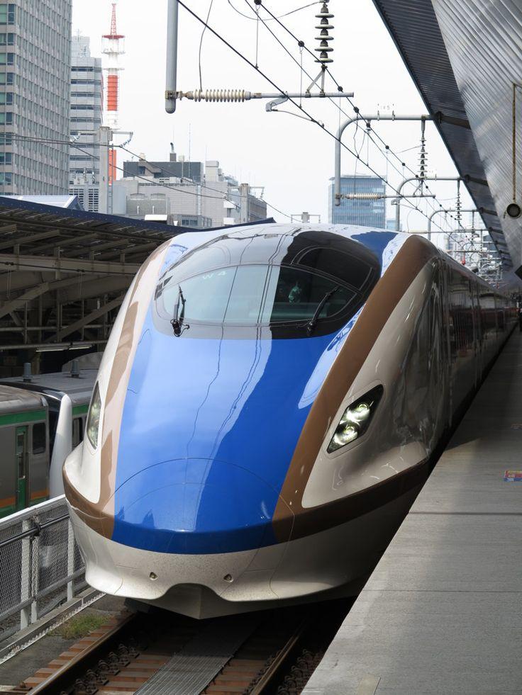 Hokuriku Shinkansen Bullet Train from Tokyo to Kanazawa, Japan 北陸新幹線