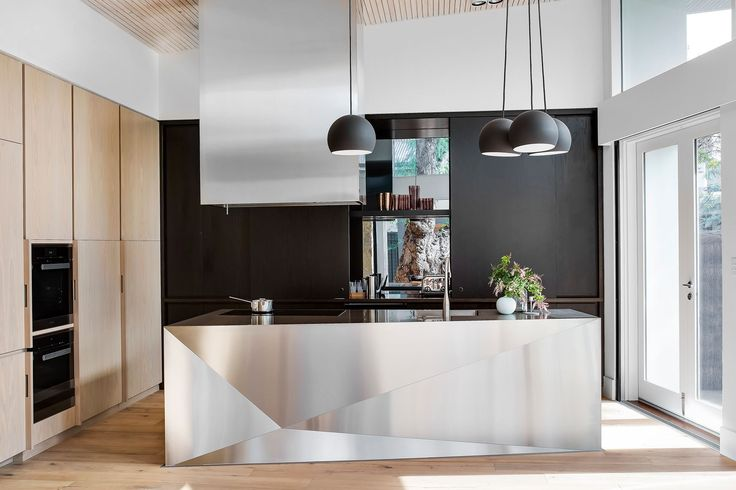 Inspired the design of this Adelaide home, including 'hide the kitchen.... | homestolove.com.au