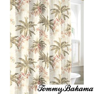 Croscill Tropical Pattern 70x72 Inch Fiji Shower Curtain By Croscill Tommy Bahama Bath And