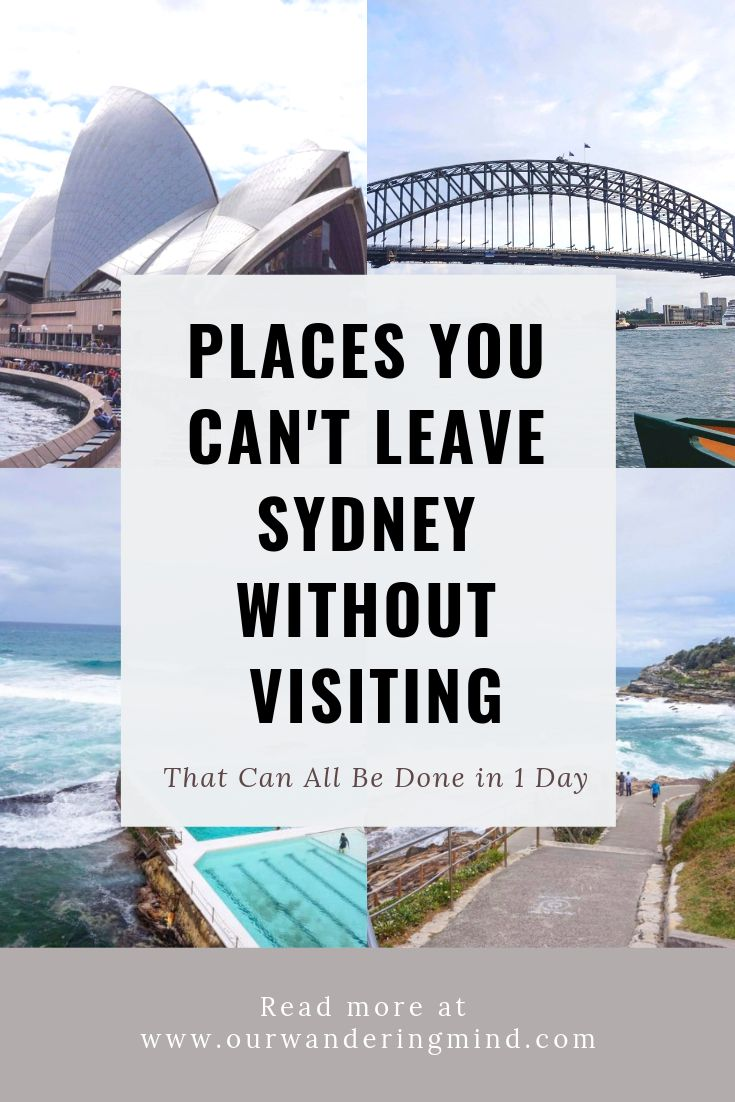 Places You Can't Travel to Sydney Without Seeing