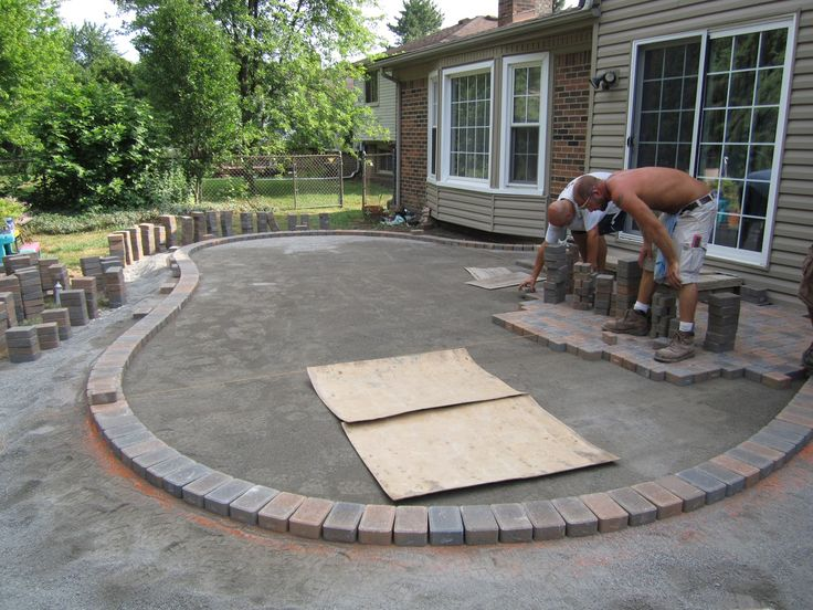 30+ Vintage Patio Designs With Bricks. Paver Patio CostSmall ...