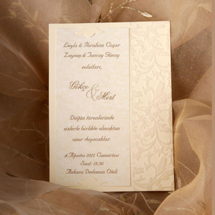 Huwelijkskaarten Koza Alara : 3093