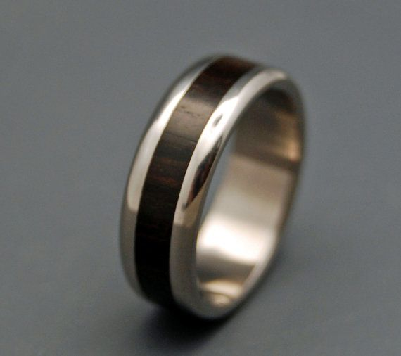 Moluccas Maccassar  Wooden Wedding Rings by MinterandRichterDes, $225.00