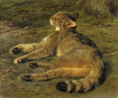 Wildcat                                          1850                        Rosa     BONHEUR French
