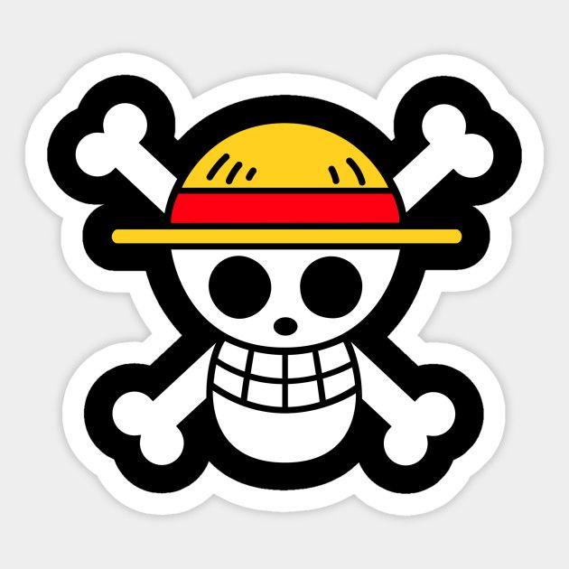 ONE PIECE Wandtattoo Luffy Wandaufkleber Autotattoo Ruffy Wall Sticker