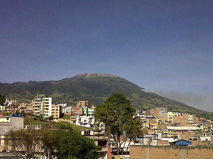 (IMAGENES) NARIÑO, COLOMBIA | EL VOLCAN GALERAS - San Juan de Pasto.