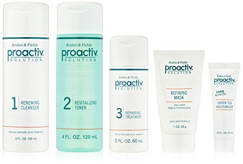 The proactiv 3-step system helps treat and prevent acne breakouts with proven acne-fighting ingredients. The renewing cleanser and repairing lotion contain benzoyl peroxide, a proven acne medicine known to kill and prevent acne bacteria. The alcohol-free revitalizing toner helps to gently remove... FULL ARTICLE @ http://www.sheamoistureproducts.com/store/proactiv-3-step-acne-treatment-system-60-day/?a=6666