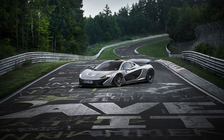 2013 McLaren P1 - A great example of beauty in engineering-driven aerodynamics