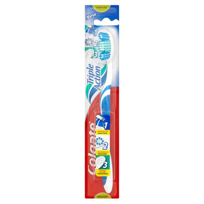 Kroger: Colgate Triple Action Toothbrush Only $0.39!