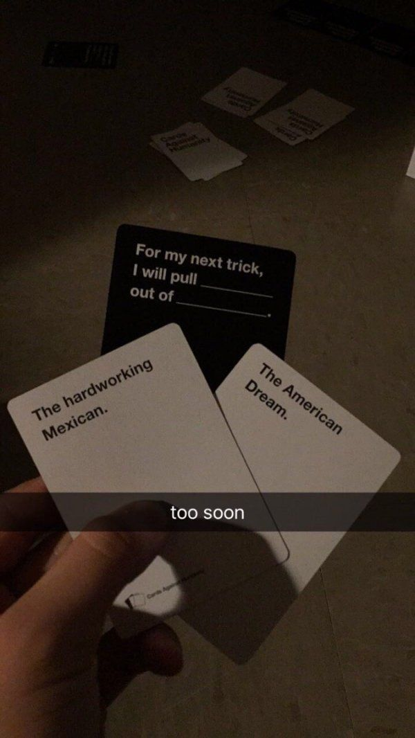 Cards Against Humanity                                                                                                                                                                                 More