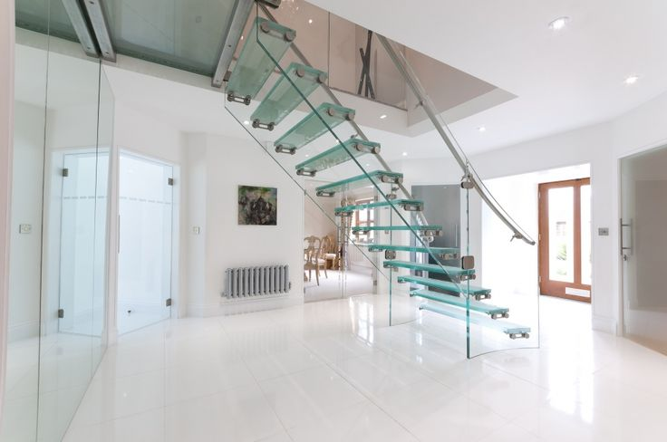 Floating Glass Staircases, Chelsea, London