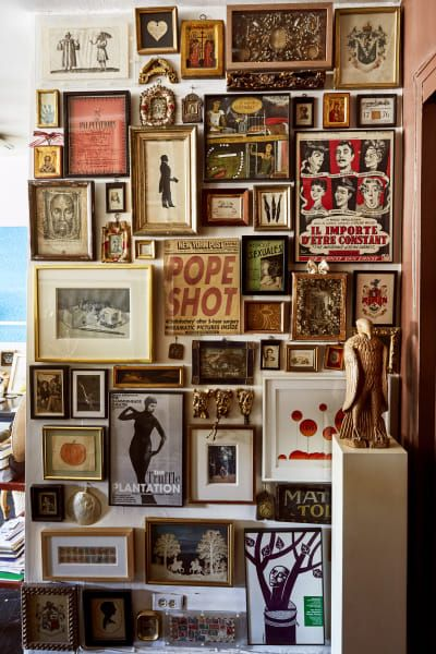 Inside A West Village Apartment With Souvenir Collection That Seriously Stands Out Maximalist Decor Home Inspiration