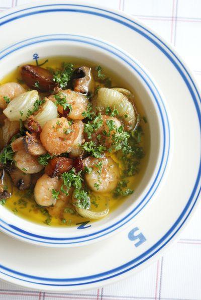 「えびのアヒージョ」のレシピ by Be fabulous!さん | 料理レシピブログサイト タベラッテ