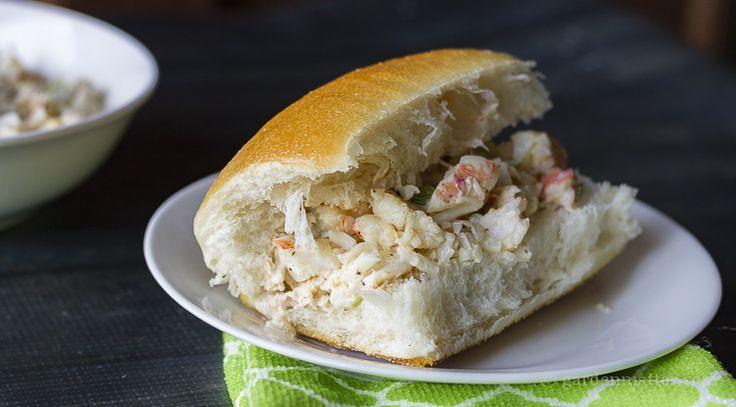 Shrimp Salad Sandwich Roll | Hearth & Vine - formerly Garden Matter