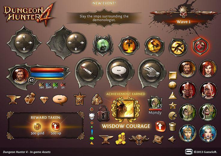 Diablo 3 encyclopedia, Mathieu Pascal on ArtStation at https://www.artstation.com/artwork/diablo-3-encyclopedia