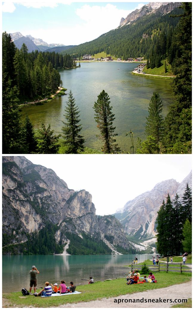 Apron and Sneakers - Cooking & Traveling in Italy: Dolomite Lakes, Italy (Lago di Misurina and Lago di Braies)
