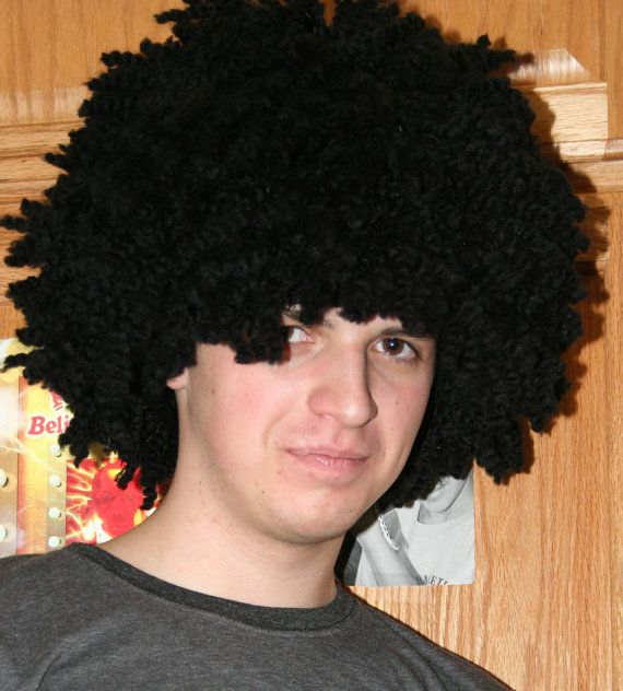 ... Crochet Wigs,Hats with Hair on Pinterest Wigs, Yarn wig and Hair