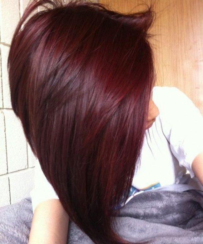 Connu Les 25 meilleures idées de la catégorie Cheveux couleur de cerise  UV09