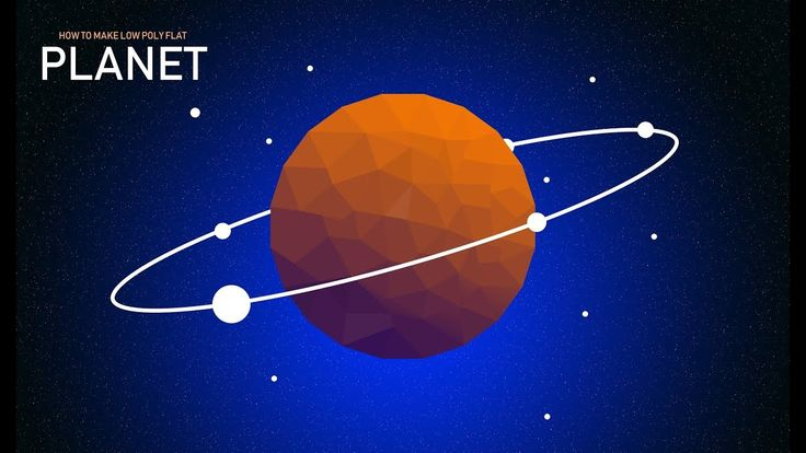 How to make Polygon Flat Planet | Adobe Photoshop | By Ju Joy Design Bangla