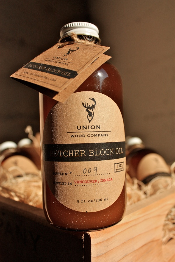 Butcher Block Oil By Union Wood Company For Your Handy Boos