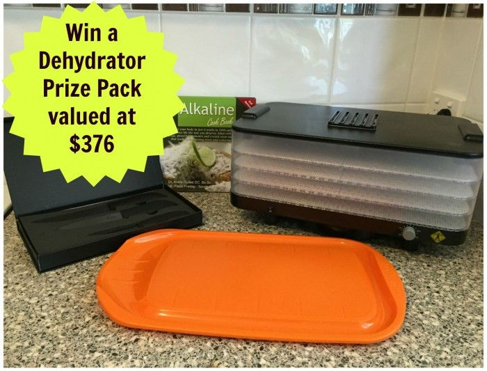 Win a L'Equip Food Dehydrator Prize Pack Valued at $376