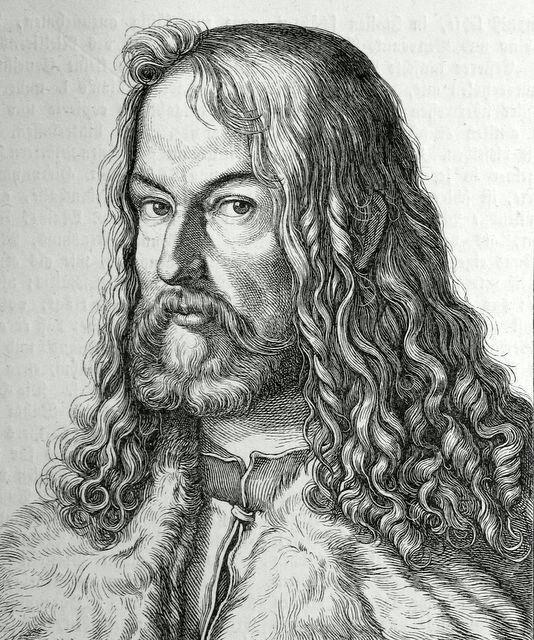ДЮРЕР,АЛЬБРЕХТ(Dürer,Albrecht)(1471-1528) Self-portrait