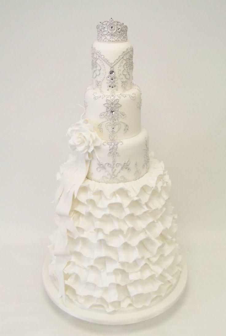 The 120 best wedding cake images on Pinterest | Cake wedding, Petit ...