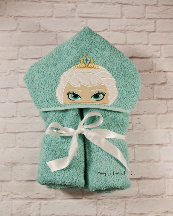 Hooded Bath Towel Tutorial